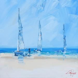 Aspendale Sails 2 by Craig Trewin Penny