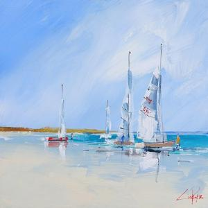 Aspendale Sails by Craig Trewin Penny
