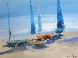 Before the Sail by Craig Trewin Penny