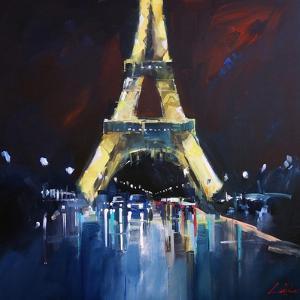 Eiffel Rain by Craig Trewin Penny