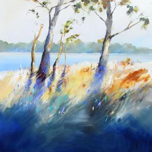 River Bank Shadows by Craig Trewin Penny
