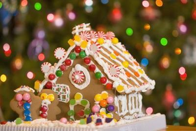 Gingerbread House at Christmas by Craig Tuttle