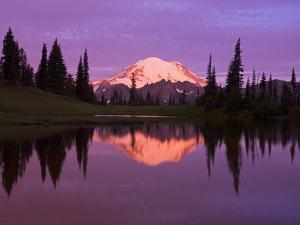 Mount Rainier and Tipsoo Lake by Craig Tuttle