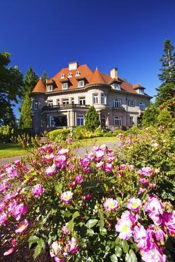 Summer Pittock Mansion, Portland, Oregon by Craig Tuttle