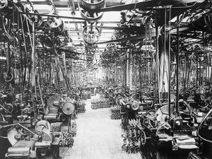 Crankshaft Grinding Department at Ford Motor Company