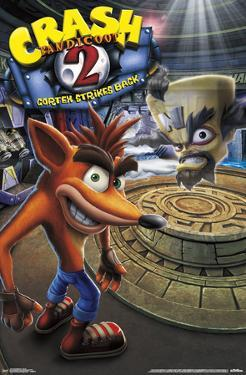 Crash Bandicoot 2 - Key Art