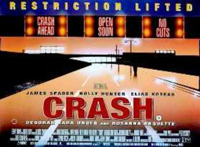 Crash (James Spader, Holly Hunter) Movie Poster