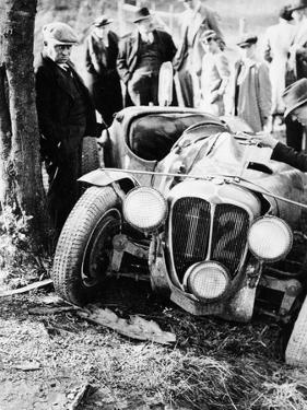 Crash of the Le Mans 24 Hours Winner at Spa, Belgium, 1938