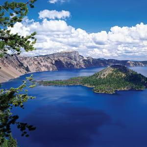 Crater Lake at Crater Lake National Park, Oregon, USA