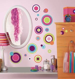 Crazy Dots Peel & Stick Wall Decals