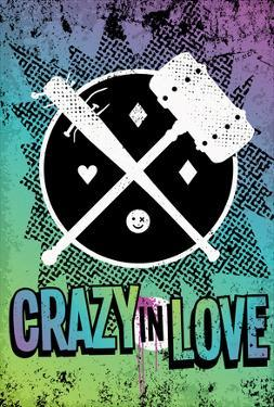 Crazy In Love Distressed Color Splatter