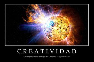 Creatividad. Cita Inspiradora Y Póster Motivacional