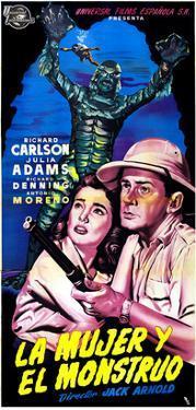 Creature from the Black Lagoon, (aka La Mujer Y El Monstruo), Julie Adams, Richard Carlson, 1954