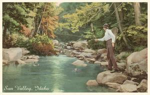 Creek Fishing, Sun Valley, Idaho