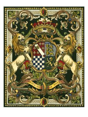 Crest on Black II
