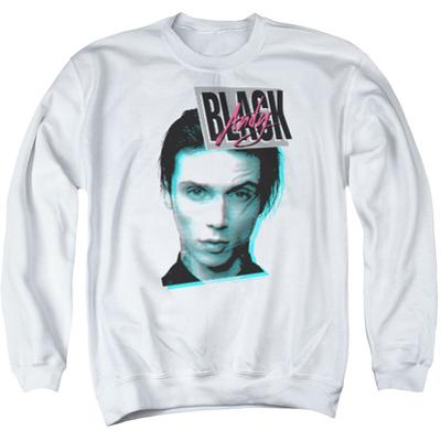 Crewneck Sweatshirt: Andy Black- Digital Distortion