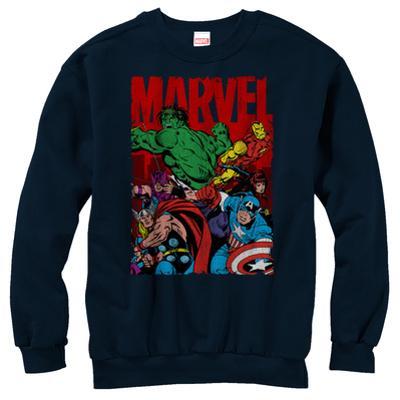 Crewneck Sweatshirt: Avengers- Classic Team