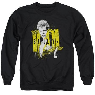 Crewneck Sweatshirt: Billy Idol- Brash