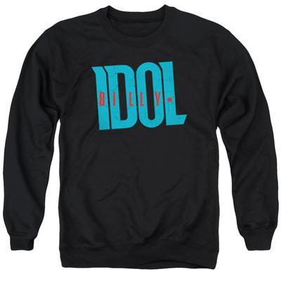 Crewneck Sweatshirt: Billy Idol- Logo