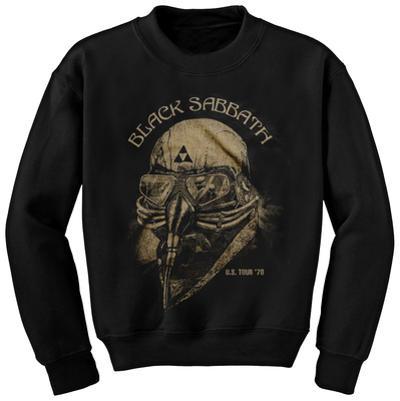 Crewneck Sweatshirt: Black Sabbath - US '78 Tour