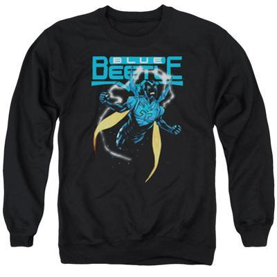 Crewneck Sweatshirt: Blue Beetle- Fierce Flight