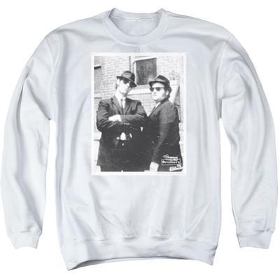 Crewneck Sweatshirt: Blues Brothers- Brick Wall