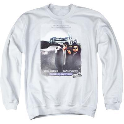 Crewneck Sweatshirt: Blues Brothers- Distressed Poster
