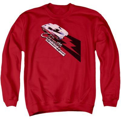 Crewneck Sweatshirt: Chevy- Corvette Sting Ray