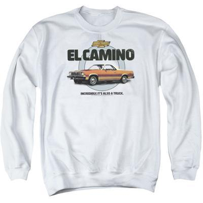 Crewneck Sweatshirt: Chevy- El Camino Incredible Truck