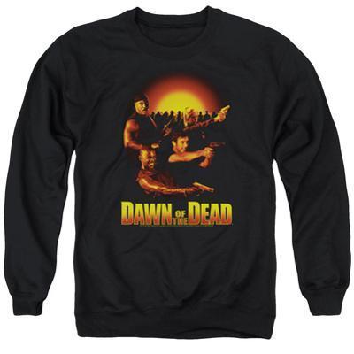 Crewneck Sweatshirt: Dawn Of The Dead- Dawn Collage