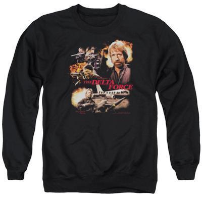 Crewneck Sweatshirt: Delta Force- Action Pack