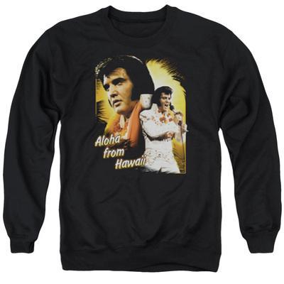 Crewneck Sweatshirt: Elvis - Aloha