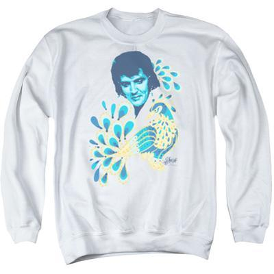 Crewneck Sweatshirt: Elvis - Peacock