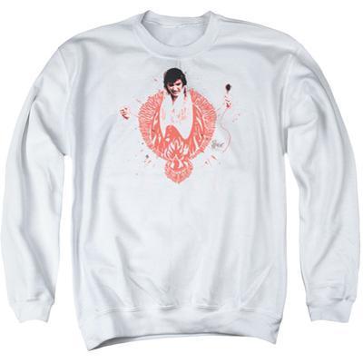 Crewneck Sweatshirt: Elvis - Red Phoenix