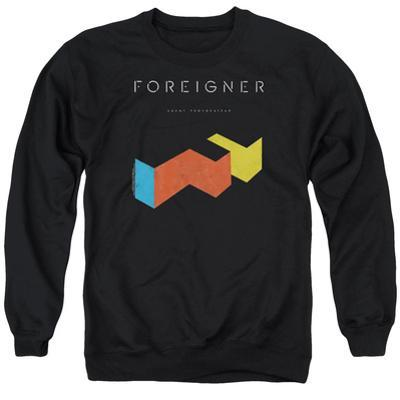 Crewneck Sweatshirt: Foreigner- Agent Provocateur