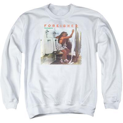 Crewneck Sweatshirt: Foreigner- Head Games Album Cover