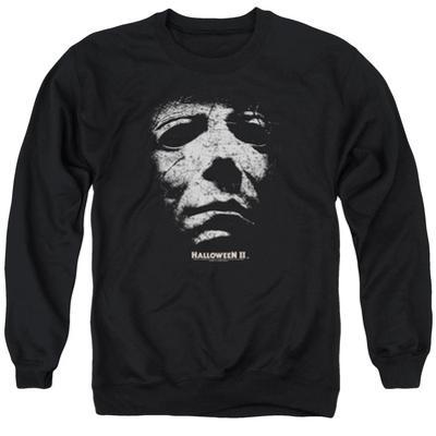 Crewneck Sweatshirt: Halloween II- Masked Kitty