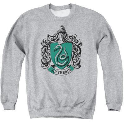 Crewneck Sweatshirt: Harry Potter- Slytherine Crest