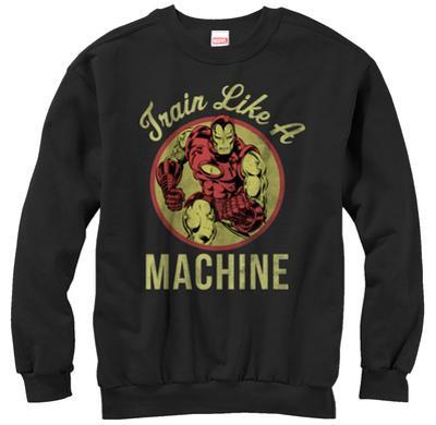 Crewneck Sweatshirt: Iron Man- Like A Machine