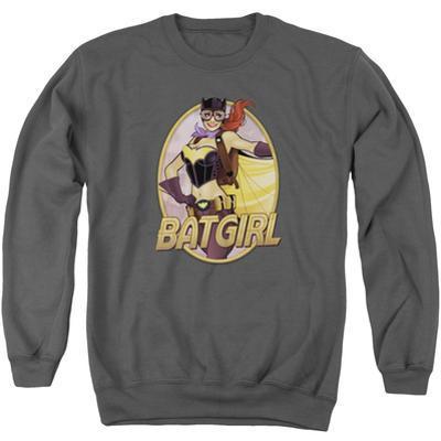 Crewneck Sweatshirt: JLA- Batgirl Bombshell