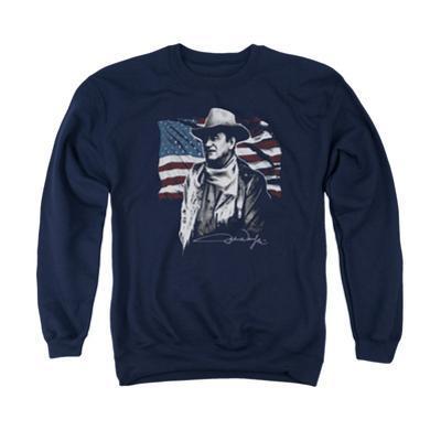 Crewneck Sweatshirt: John Wayne- American Idol
