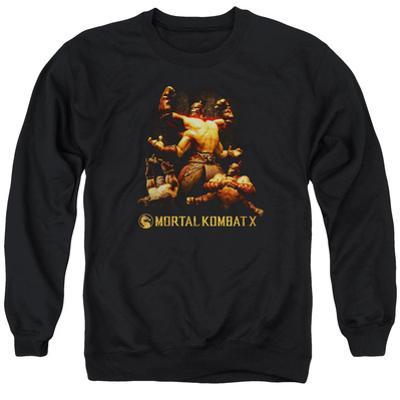 Crewneck Sweatshirt: Mortal Kombat X- Goro Collage