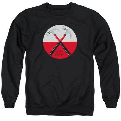 Crewneck Sweatshirt: Pink Floyd- Hammers Button