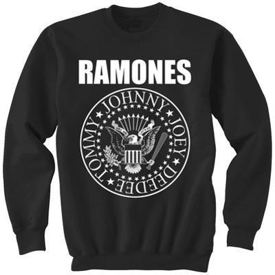 Crewneck Sweatshirt: Ramones- Classic Logo