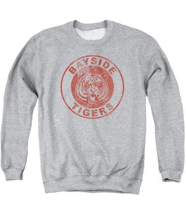 Crewneck Sweatshirt: Saved By The Bell- Bayside Tigers