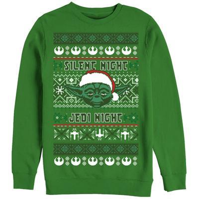 Crewneck Sweatshirt: Star Wars- Festive Jedi Knight Holiday Sweater