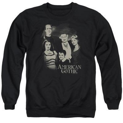 Crewneck Sweatshirt: The Munsters- American Gothic
