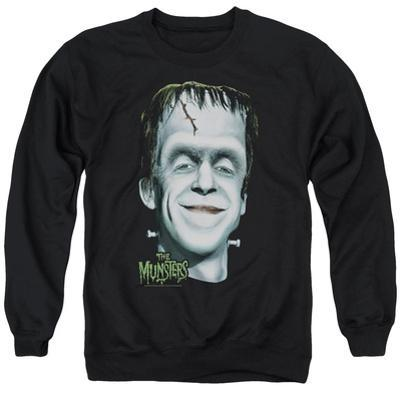 Crewneck Sweatshirt: The Munsters- Herman's Head