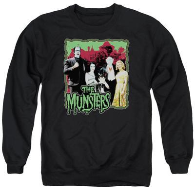 Crewneck Sweatshirt: The Munsters- Normal Family