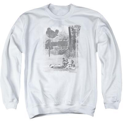 Crewneck Sweatshirt: Woodstock- Hippies In A Field